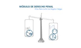 MÓDULO DE DERECHO PENAL