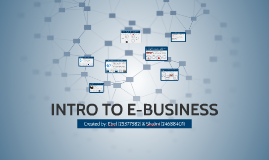 Copy of INTRO TO E-BUSINESS