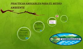PRACTICAS AMIGABLES PARA EL MEDIO AMBIENTE