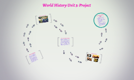 World History Unit 3: Project