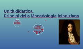Copy of Principi della monadologia leibniziana
