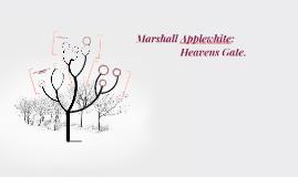 Marshall Applewhite: