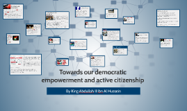 Towards our democratic empowerment and active citizenship