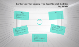 Lord of the Flies Quotes - The Beast/Lord of the Flies