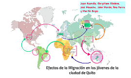 Efectos de la Migración en los jóvenes de la ciudad de Quito