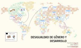 IGUALDAD DE GÉNERO Y ESTEREOTIPOS