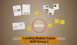 Lending Module Cases