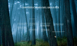 CONSTITUCIONES DEL SIGLO XIX