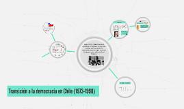 Transición a la democracia en Chile (1973-1990)