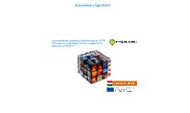 Copy of TÁMOP 4.2.1 nyitó