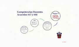 Acuerdos 444, 447 y 448