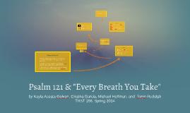 "Psalm 121 & ""Every Breath You Take"""