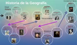 Copy of Historia de la Geografía
