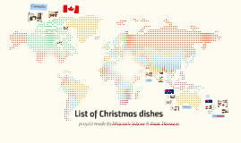 List of Christmas dishes