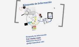 Búsqueda de Información Enfermería