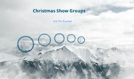 Christmas Performance Announcement