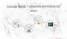 George Bush: Campaña presidencial 2000