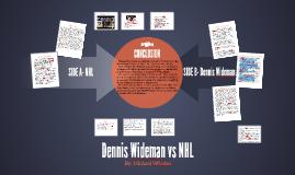 Dennis Wideman vs NHL