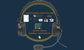 TALLER DE ATENCIÓN TELEFÓNICA- CONTACTO POR IVR