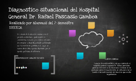 Copy of Diagnostico situacional del hospital general dr. rafael Pasc