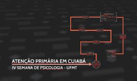ATENÇÃO PRIMÁRIA EM CUIABÁ