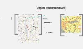 Urbanismo III- Análisis Sector Viejo Aeropuerto