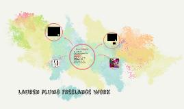 Lauren plumb Freelance work