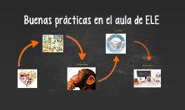 Buenas prácticas en el aula de ELE