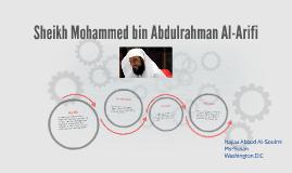 Sheikh Mohammed bin Abdulrahman Al-Arifi