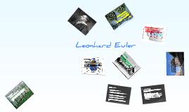 Copy of Leonhard Euler