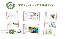 TEMA 3. LA NATURALEZA