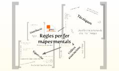 Regles per fer mapes mentals