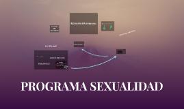 PROGRAMA SEXUALIDAD