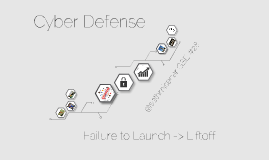 TEDxJackson - Cyber Defense: From Failure to Launch to Achieving Liftoff