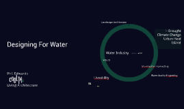 Site tec Week 4-  Designing for Water