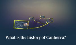 Canberra history