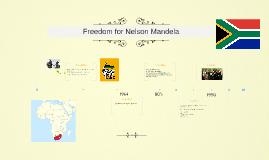 Freedom for Nelson Mandela