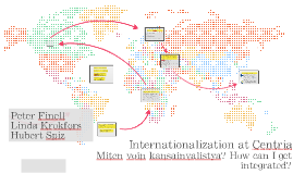 Internationalization at Centria/Kokkola