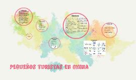 Pequeños turistas en China