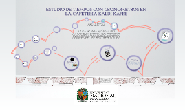 APLICACIÓN DEL ESTUDIO DE TIEMPOS