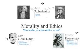 Morality/Ethics