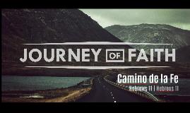 OUR faith Journey