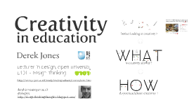 Creativity in Education (Introduction)