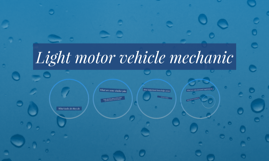 Light motor vehicle mechanic