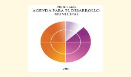 La Agenda para el Desarrollo Municipal es una herramienta de