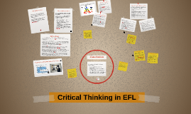 Critical Thinking in EFL