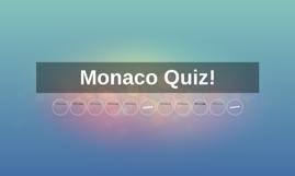 Monaco Quiz!