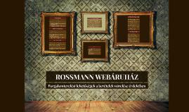 ROSSMANN WEBÁRUHÁZ