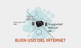 Copy of BUEN USO DEL INTERNET