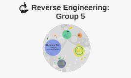 Reverse Engineering: Group 5